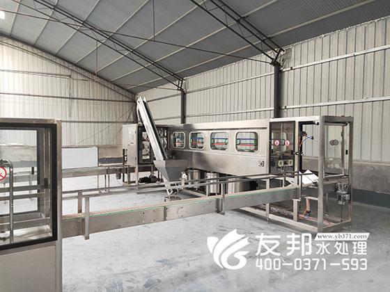郑州桶装水灌装线